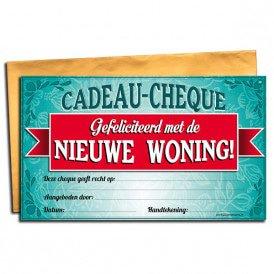 Gift Cheque - Nieuwe woning