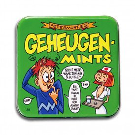 Pocket Tin - geheugen mints