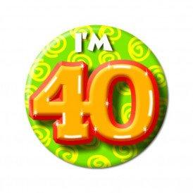 Button leeftijd 40