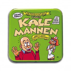 Pocket Tin - kale mannen
