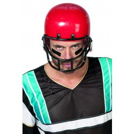 Helm American Football, rood