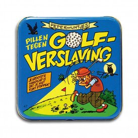 Pocket Tin - golf verslaafde