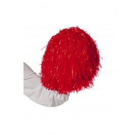 Cheerleader pompom, rood