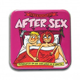 Pocket Tin - after sex