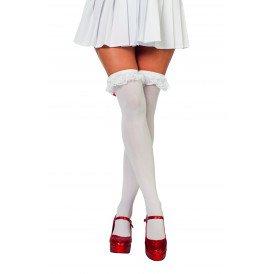 Overknee verpleegster, wit