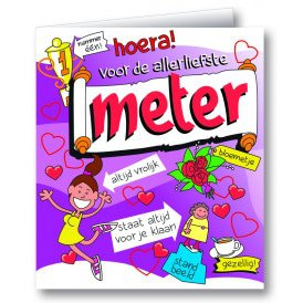 Wenskaart meter