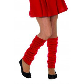 Beenwarmers uni, rood