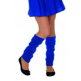 Beenwarmers uni, blauw