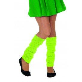 Beenwarmers uni, neon-groen
