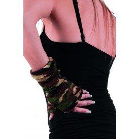 Handschoenen bedrukt, camouflage