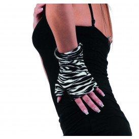 Handschoenen bedrukt, zebra