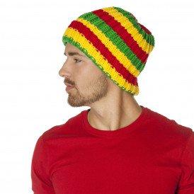 Muts, rood/geel/groen