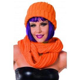 Muts, neon-oranje