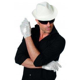 Handschoenen Popstar, wit