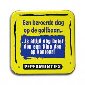 Pocket Tin - golfbaan