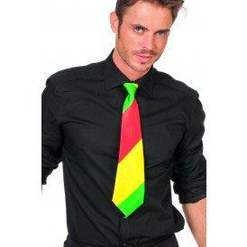 Stropdas, rood/geel/groen