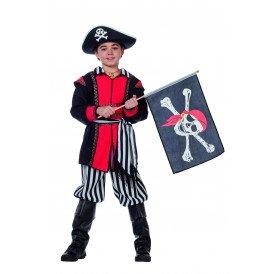 Piratenvlag + stok TIJDELIJK UITVERKOCHT