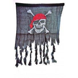 Versleten piratenvlag (90 cm x 60 cm)