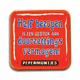 Pocket Tin - half bezopen