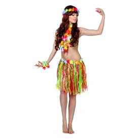 Hawaii set (korte rok)