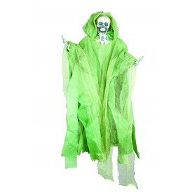 Hangend skelet medium groen