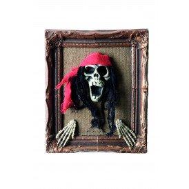 Schilderij, piratenkop