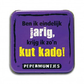 Pocket Tin - kut kado