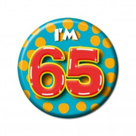 Button leeftijd 65