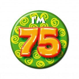 Button leeftijd 75