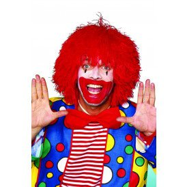 Clownspruik, rood