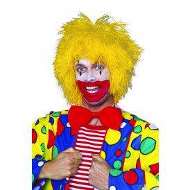 Clownspruik, geel