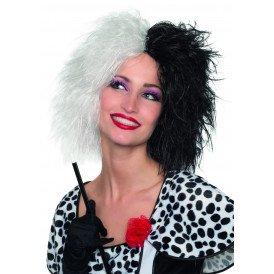 Cruella, zwart/wit