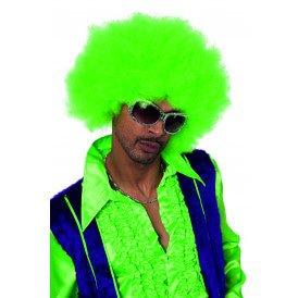 Super Afro, neon-groen