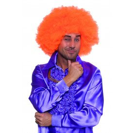 Super Afro, neon-oranje