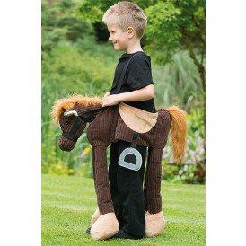 Rijdend op pony kostuum unisex kinderen