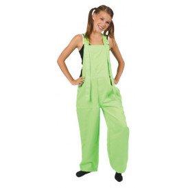 Tuinbroek fluor groen kinderen