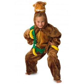 Aap met bananen kostuum unisex kinderen