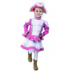 Dansmarietje pink kinderen