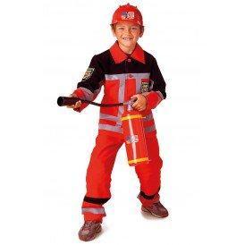 Brandweer rood kinderen