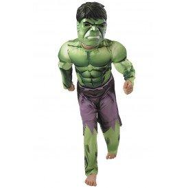 Gespierde Hulk kostuum jongens