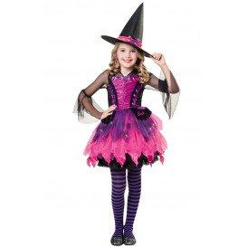 Barbie heksje zwart/roze