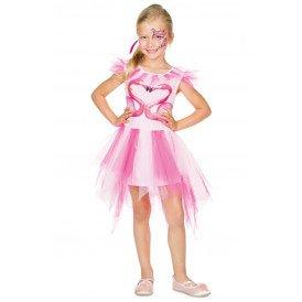 Flamingo jurkje meisjes