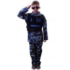 Marine camouflage  kinderen