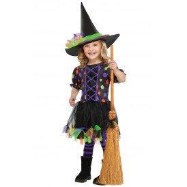 Heksen jurkje  multicolour meisjes