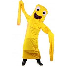 Funny windsock geel kinderen