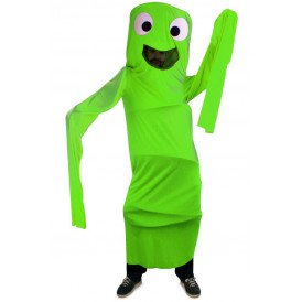 Funny windsock groen kinderen