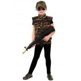 Camouflage vest unisex kinderen