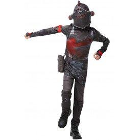 Fortnite Black Night kostuum jongens