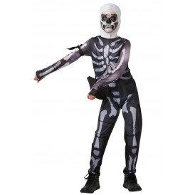 Fortnite Skull Trooper kostuum jongens
