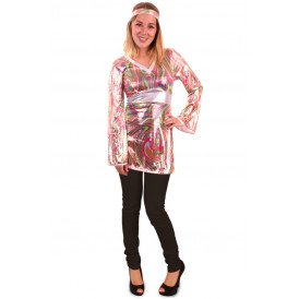 Disco funky blouse/top dames